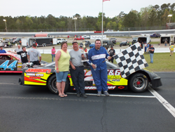 Late Model Race Results - Opening Day Winner Wesley Johnson