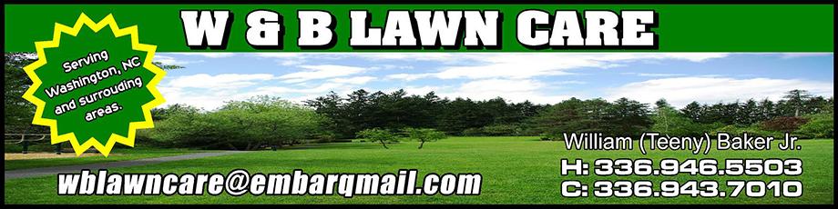 W & B Lawn Care Logo