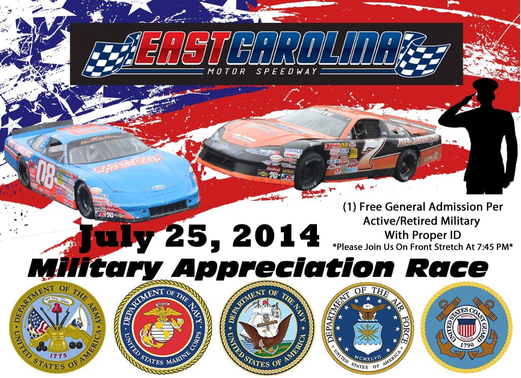 Military Appreciation Race at ECMS