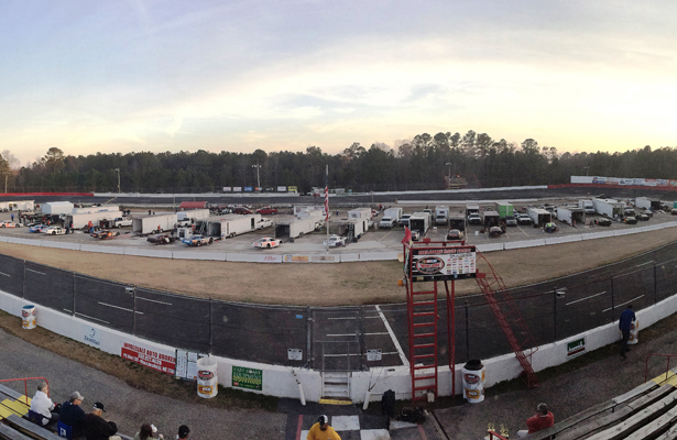 Panorama of East Carolina Motor Speedway (Justin Kern/The Weekly Racer)